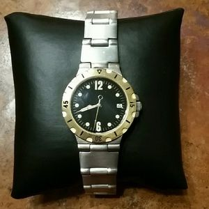 NWOT Stainless Steel Gold Watch